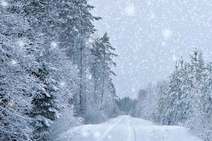Снег - это нечто белое